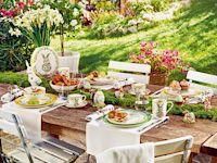 Der Frühling lädt ein - Stilvoll auftischen und entspannt das Fest genießen