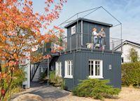 Flexibel, unabhängig und das gemütliche Zuhause immer dabei: In einer minimalistischen Wohnumgebung wie dem Green Living Space fehlt es den Bewohnern an nichts.