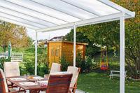Gut geschützt genießen - Terrassendächer behüten Frischluftfans vor Wetterkapriolen