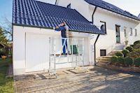 Hier geht's hoch hinaus – Clevere Steighilfen machen Heimwerkerarbeiten rund ums Haus komfortabel und sicher