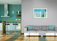 DIY-Projekt mit Geling-Garantie: In Wandklebetechnik sind Vliesfasertapeten von Erfurt ruck, zuck angebracht und im Anschluss mit Farbe versehen.