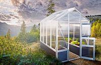 Ganzjähriges Gartenglück - Mit einem Gewächshaus bis in den Winter hinein ernten