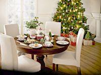 Fröhliche Weihnacht! - Ein stimmungsvoll gedeckter Tisch als Glanzpunkt der schönsten Zeit des Jahres