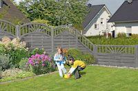 Grau Schon Zu Jeder Jahreszeit Zaune Und Gartenzubehor Aus Holz