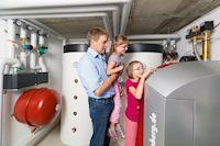 Modernisieren mit der Wärmepumpe - Auch für den Sanierungsfall lässt sich Umweltwärme nutzen