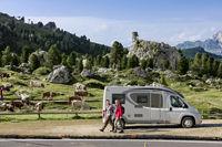 Kurztrip auf vier Rädern - Mit Caravan oder Reisemobil den Urlaub zum unvergesslichen Erlebnis machen