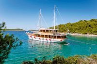 Die Flotte von I.D. Riva Tours, dem deutschen Spezialisten für Kroatien-Reisen, besteht aus 34 Schiffen und bietet jeweils Platz für zehn bis 40 Personen – vom traditionellen hölzernen Motorsegler bis zur luxuriösen Motoryacht ist hier für jeden das Passende dabei.