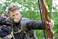 Auf den Spuren von Robin Hood: Mit Pfeil und Bogen im Gelände unterwegs – da sind Konzentration und Ausdauer gefragt.