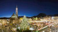 Ein Wintermärchen in der Adventszeit - Der Bozner Christkindlmarkt verbreitet eine magische Winteratmosphäre