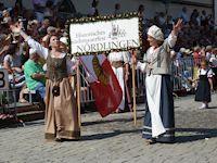 Vom 6. bis zum 8. September 2019 lockt Nördlingen Bewohner und Besucher zum Historischen Stadtmauerfest.
